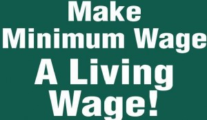 Living Wage Yardsign