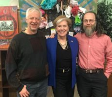 NYS Department of Labor Commissioner, Roberta Reardon, Visits the Workers' Center