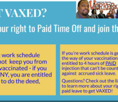 Know Rights: NY Paid Time Off for Vaccination